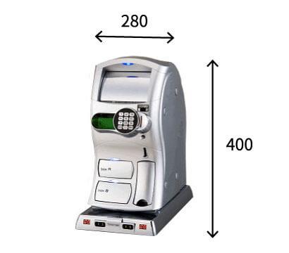 公衆型充電器(海外用)の寸法・サイズ